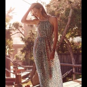 | Anthro | HD in Paris | Mayacamas maxi dress